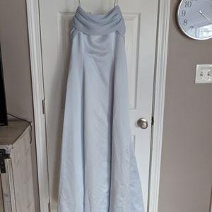 Peri blue wedding bridesmaid / MOH dress